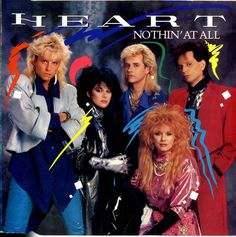 """For Sale -Heart Nothin At All UK  7"""" vinyl single (7 inch record)- See this and 250,000 other rare and vintage records & CDs at http://eil.com/"""