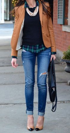 How to wear jeans to the office in 2018