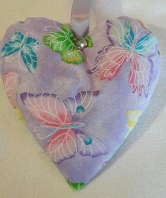 Butterfly Gift / Buyterfly Fabric Lavender Bag / Easter Gift - Handmade  in Home, Furniture & DIY, Celebrations & Occasions, Other Celebrations & Occasions   eBay!