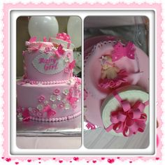 Baby Shower Girl Cake