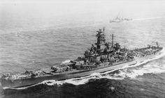 USS SOUTH DAKOTA (BB 57) August 1943