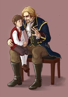 Haytham and Edward Kenway. Oh, my heart. Assassin's Creed.