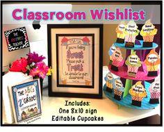 Classroom Wish List Ideas : Ideas for meet the teacher kindergarten chaos teacher