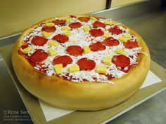 Pizza Cake: Part II – How-To Tips and Tricks | CAKE STORIES by Rose Sen