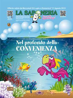 Copertina #volantino #promozionale  La Saponeria n° 12
