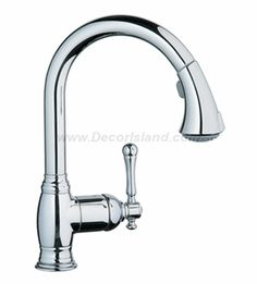 Grohe 33870 000 Chrome Bridgeford Dual Spray Pull Down Kitchen Faucet