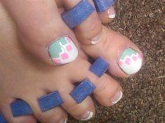 mosaic easter toes by aliciarock - Nail Art Gallery nailartgallery.nailsmag.com by Nails Magazine www.nailsmag.com