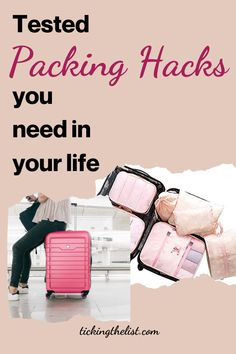 Easy packing hacks to help you get the more out of your baggage allowance.