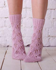 Knitted sock Pink wool sock Hand knit socks Lace socks Pink women knit socks Casual socks Handmade s Lace Socks, Pink Socks, Wool Socks, Lace Knitting, Knitting Socks, Cozy Fashion, Colorful Socks, Fancy, Vogue