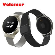 New Volemer A68 Waterproof Heart Rate Smartband Blood Pressure Smart Watch Wristband Blood Oxgen Bracelet For IOS Android Phone #Affiliate