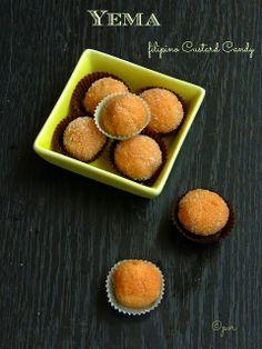 Priya's Versatile Recipes: Yema - Filipino Custard Candy