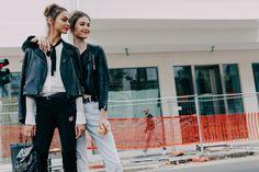 Street Looks at Milan Fashion Week Spring/Summer 2016 | Vogue Paris