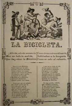 La Bicicleta Jose Guadalupe Posada