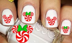 Holidays at your Finger Tips with Disney Christmas Nail Decals