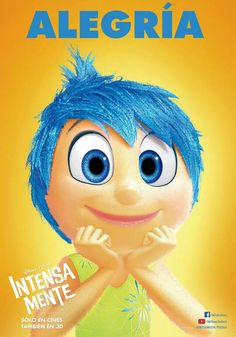 New inside out poster  #joy #disney #pixar #animation #insideout