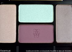 Guerlain Ecrin 4 Couleurs in 503 Les Tendres from the Meteorites Blossom Spring Look #Beauty