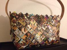 Taske lavet af franske tegneserier