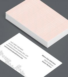Totally Textured 2: minimalist Business Cards in cool calm colours for freelancers, small business owners, contractors or people who prefer an unfussy, classic approach to communications. #moocards #luxebymoo #businesscard