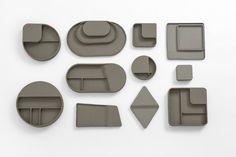 Benjamin Hubert – Layer, Charge Tray, Bitossi Ceramiche, 2016
