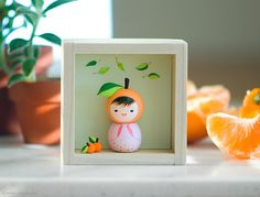 Miniature kokeshi doll . Maemi | Flickr - Photo Sharing!