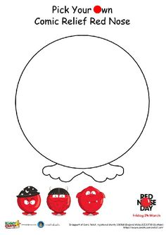 Need something to do for Red Nose Day? Why not design your own Red Nose?