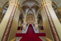 Impressive Empty Hungarian Parliament in Pictures Budapest, Acrylic Photo Prints, Quality Photo Prints, Hanging Frames, Color Depth, Timeless Beauty, Service Design, The Help, Photo Galleries