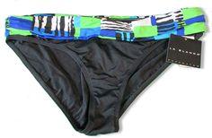 La Blanca Bikini Swim Bottom Size 14 BLACK MULTI NWT $55 #LaBlanca #BikiniBottom