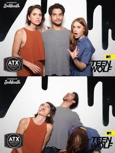 Shelley Hennig, Tyler Posey + Holland Roden