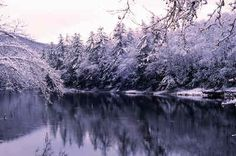 Clarion River in winter.Cooksburg,Pa. Kaltenbaugh photo. He takes beautiful photos and has a booth at ALF every year.