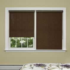 Premium Wood Look Window Roller Shade