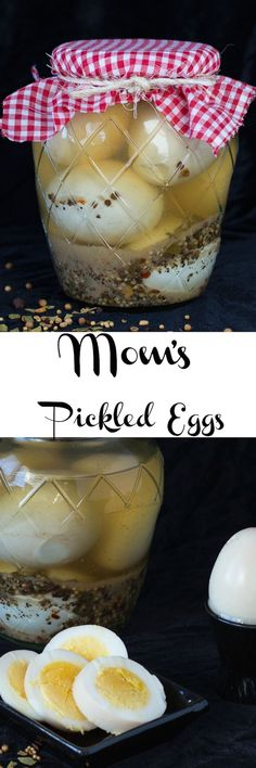 Pickled Eggs This recipe will have you loving pickled eggs. Great for all those leftover Easter Eggs!This recipe will have you loving pickled eggs. Great for all those leftover Easter Eggs! Antipasto, Pickled Sausage, Spicy Pickled Eggs, Pickled Quail Eggs, Pickled Beets, Chutney, Picked Eggs, Great Recipes, Favorite Recipes