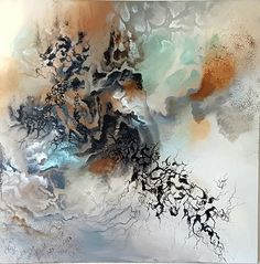 Abstract painting by Sabrina Tanase Art Abstrait, Beautiful Paintings, Art Forms, Sculpting, Abstract Art, Watercolor, Drawings, Crafts, Gadgets