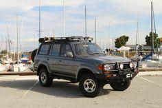1997 Toyota Land Cruiser 80 series #ARB #oldmanemu
