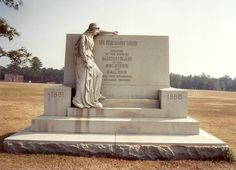 State of Michigan monument at Andersonville Prison site in Georgia