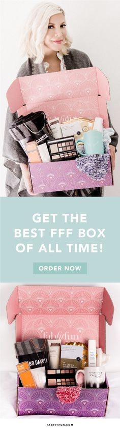 Discover your new favorite products with FabFitFun. $200+ of full-size glam goodies for $39.99 with code EXTRA. This box just sold out & the Editor's Box is even better!