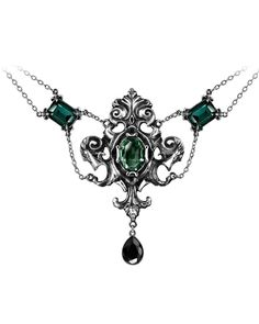 Alchemy Gothic | Queen of the Night Necklace - Tragic Beautiful buy online from…