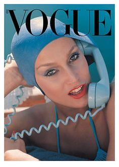 pose, prop, color inspiration Fashion Preserve: ALL CAPS: Vintage Bathing Caps and the Ladies Who Love Them