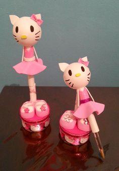 Lorraine's handmade: fofulapiz hello kitty