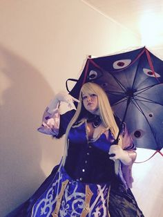 My Yukari Yakumo Touhouvania from Touhou   Follow me on facebook to see all WIP Lady Cookiie Cosplay