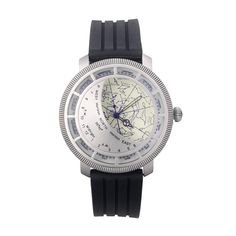 For Mom - A beautiful functional time piece, the Planisphere Watch finds it's roots in astronomy. Big Watches, Sport Watches, Cool Watches, Watches For Men, Luxury Watches, Nerd Gifts, Cool Gifts, Unique Gifts, Men's Fashion