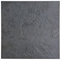 Cirque Black Ceramic Floor Tile, Pack of 9, (L)333mm (W)333mm | Departments | DIY at B&Q