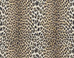 """Fabric """"Panthère"""" by Pierre Frey / use for the """"Kips by Decorator Show House - Ken Fulk Jean Louis Deniot, Ken Fulk, Pierre Frey Fabric, Leopard Wallpaper, Colani, Custom Carpet, Casamance, Made To Measure Curtains, Fabric Patterns"""