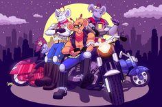 Biker Mice from Mars by ChicaG.deviantart.com on @deviantART