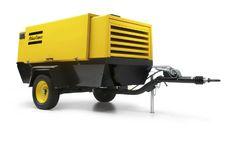 Použitý pojízdný kompresor Atlas Copco XAHS 236 (dochlazovač)