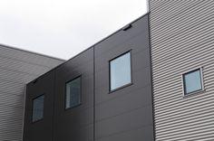 De Specialiteitenbakkerij, Tiel    Architect: Schlingmann Architecten   Product: Promline 2000B, zetwerk   Coating: Hairexcel custom made metallic zwart