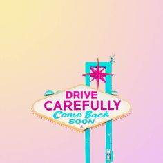 Candy-Colored Signage Minimalist Photography
