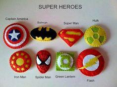 Items similar to Llaveros superheroe - set de 6 Superheroe favores de partido on Etsy - Visit now to grab yourself a super hero shirt today at 40% off!