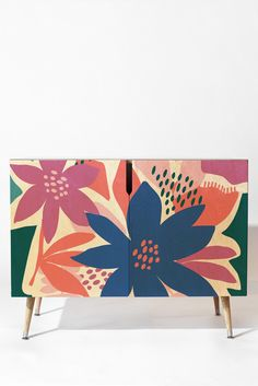 Zoe Wodarz Afternoon Bloom Credenza | DENY Designs Home Accessories