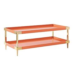 Savile Coffee Table – Persimmon | Serena & Lily