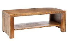 "Holden Coffee Table, Natural on OneKingsLane.com | 48""w x 24""d x 18""h | 225.00 | Fir with natural Oak finish"